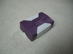 Hinged box N°4 (Mélisande*) Tags: mélisande origami box