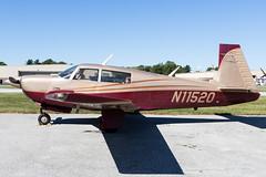 N11520 (✈ Greg Rendell) Tags: 1981 mooneym20j n11520 private aircraft airplane aviation brandywineairport flight gregrendellcom koqn n99 oqn pa pennsylvania spotting westchester westchesterairport