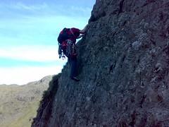 Corvus Hand Traverse. Borrowdale (jac higgins) Tags: corvus black crag borrowdale rock climbing