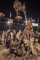 Varanasi - Ghats - Ganga Aarti prayer-9