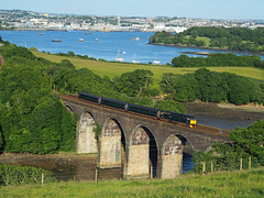 Day Riviera Forder (TinyTim Symons) Tags: class 57 gwr great western railway forder viaduct cornwall plymouth sleeper day riviera loco hauled vegex