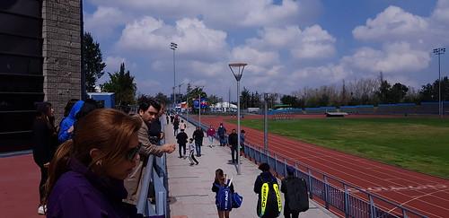 Pasillo Pista Atlética Estadio Nacional