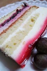 sweet stripes :) (green_lover) Tags: cake sweets food macro smileonsaturdsy linesandstripes stripes frame smileonsaturday ourdailychallenge