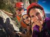 Adventurer trio... (belboo) Tags: 2017 corbetta laura socledelacandelle candelle climbing france francia frankreich lescalanques marco socle trip