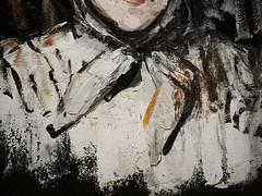 CEZANNE,1866-67 - Portrait de Marie Cézanne, Sœur de l'Artiste (Saint Louis) - Detail 23 (L'art au présent) Tags: art painter peintre details détail détails detalles painting paintings peinture peintures 19th 19e peinture19e 19thcenturypaintings 19thcentury frenchpaintings peinturefrançaise frenchpainters peintresfrançais tableaux paulcézanne paulcezanne cezanne cézanne famille figures personnes people pose model portraits face faces visage family sister foulard scarf femme women woman female jeunefemme youngwoman fille girl girls jeunefille younggirl