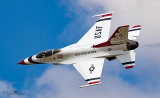 USAF Thunderbirds Aerobatic display team