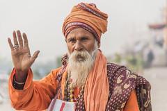 Sadhu @ Varanasi (Well-Bred Kannan (WBK Photography)) Tags: wbkphotography wbk kannanmuthuraman kannan nikon nikond750 d750 india indian weekendwalk incredibleindia travelphotography travel traveler boat ganges ganga river kashi kasi varanasi sadhus uttarpradesh ghatsofvaranasi holyplace holyriver water people hindus hinduism rituals streetsofvaranasi