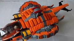 9 (Jorstad Designs, LLC) Tags: lego star wars jorstad designs custom dropship phantom halo ucs moc