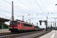 155 030 with a steel train at Bremen HBF (Richard Hagues Photography) Tags: bremen bahn railways germany guterzuge db electric 155