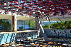Kupari Hotel, Croatia (Erik1James) Tags: kupari croatia dubrovnik damage damaged abandoned yugoslav yugoslavia swim swimming pool grafitti