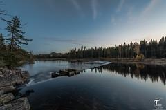 Lågen i høstfarger - Tor Magnus Anfinsen - Tema Foto - visning6 (Tor Magnus Anfinsen) Tags: kongsberg norway norge water sunset silk hdr reflection