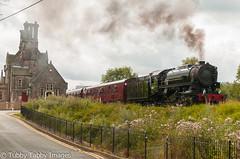 20170806-_CNH6852.jpg (bigbarney130) Tags: preserved staffordshire churnetvalleyrailway cvr s160 usatc train preservedsteam heritage 5197 vintage steam nikond300 cheddleton