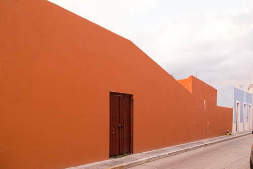 red wall, Campèche