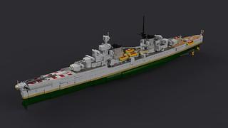 Touretso Class Heavy Cruiser