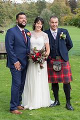 Groom, Bride & Bestman (Mel Low) Tags: wedding groom bride bestman gatestreetbarn surrey nikond7200