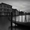 (Eirik Holmøyvik) Tags: green carlzeissdistagon28mmf2zf2 venice venezia gondola canal night italy poles pier zf2 distagont228 architecture