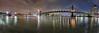 NY Manhattan X (stega60) Tags: newyork manhattan bridge brooklynbridge manhattanbridge eastriver river sky skyline lights night water skygrabber ny newyorkcity brooklyn clouds hdr panorama stiched stega60