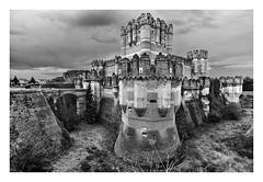 CASTILLO DE COCA  ( España ) (RAMUBA) Tags: castillo castle coca españa spain gotico gothic mudejar blanco y black white