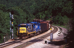 CSX0021 (ex127so) Tags: csx philson pa 1999 b367