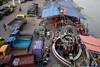 5D8_7659-2 (bandashing) Tags: keanebridge river surma boat truck sylhet manchester england bangladesh bandashing aoa socialdocumentary akhtarowaisahmed