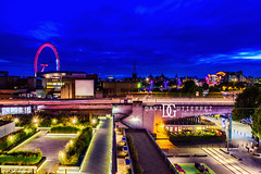 Urbanite's Oasis - South Bank, London, UK (davidgutierrez.co.uk) Tags: london photography davidgutierrezphotography city art architecture nikond810 nikon urban travel color night blue uk londonphotographer photographer england unitedkingdom europe beautiful cityscape davidgutierrez britain greatbritain d810 street arts summer skyline buildings nikon2485mm iconic landmark people property 伦敦 londyn ロンドン 런던 лондон londres londra capital structure building river riverthames colors colourful colours colour streets attraction thames bluehour twilight dusk lights light longexposure contemporary modern southbank le vibrant road lighttrails waterloo westminster londonboroughoflambeth streetphotography bus londoneye