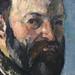 CEZANNE,1877 - Autoportrait (Orsay) - Detail 07