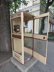 Phone booth in Odessa (kalevkevad) Tags: flickr odessa odesa ukraine
