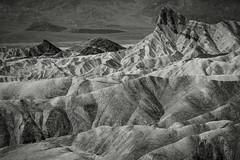 Desert Shapes (Explore) (PetterPhoto) Tags: deathvalley pettersandell petterphoto usa shapes monochrome blackandwhite noiretblanc landscapes landscape desert zabriskiespoint