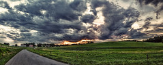 IMG_4543-50Ptzl1TBbLGER2 (ultravivid imaging) Tags: ultravividimaging ultra vivid imaging ultravivid colorful canon canon5dmk2 clouds sunsetclouds stormclouds scenic vista rural rainyday landscape evening twilight pennsylvania pa panoramic painterly fields farm sky road barn