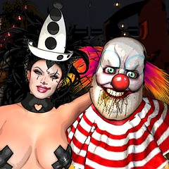 We're All Freaks Here (Renascentia11) Tags: freak freakshow light lights freaks wild circus scary creepy wow amazing halloween sl second life secondlife ahs horror haunt haunting adult