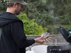 the lake house (dolanh) Tags: thelakehouse steaming crabpot oregoncoast crab devin pacificcity