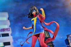CSC_6760 copy (GaleXV) Tags: jfigure bfigure kotobukiya marvel msmarvel kamalakhan bishoujo diorama city night buildings nikon d3100 toyphotography