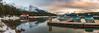 Maligne Lake (Ray Jennings AU) Tags: panorama malignelake rayjennings nikond810 snow nikon2470 lake