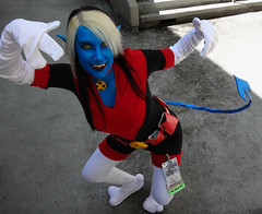 Nocturne (greyloch) Tags: dragoncon cosplay costume 2017 xmen nocturne mutant comicbookcostume comicbookcharacter marvel sony dsctx30 niksoftware exiles newexcalibur