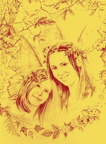 Sunshine Faeire Childe-Pencil