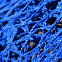 Links (YIP2) Tags: blue rope knot abstract minimal minimalism simple less line detail lines link linked thread finds pattern