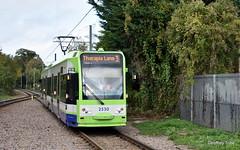 Tramlink 2530 (geoffreytribe8472) Tags: 2530 croydon gb london phippsbridge route3 tram tramlink