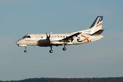 VH-REX Regional Express Saab 340 (johnedmond) Tags: perth ypph australia rex saab 340 aviation aircraft aeroplane airplane sky sel55210 55210mm ilce3500 sony goldenhourlight