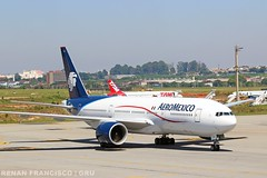 N774AM (renanfrancisco) Tags: aeromexico aeromexicoairlines am amx n774am skyteam aeroporto airport aeropuerto airlines boeing boeing777 boeing777200 777 777200 772 gru sbgr gruairport guarulhosairport spotting