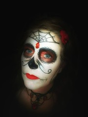 Party time (Kathryns Photography) Tags: sugarskull makeup party halloween skull