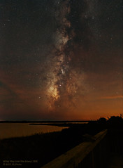 Milky Way over Pea Island (Constantine L.) Tags: night milky way galaxy stars constellations clouds sunset astrophoto astrophotography astroscape nightscape starscape obx banks north carolina canon 6d pea island outer long exposure eos nature universe astrometrydotnet:id=nova2317911 astrometrydotnet:status=failed