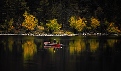 Gone Fishing (explore) (Spectacle Photography) Tags: fishing lake loonlake loon travel britishcolumbia westerncanada canada northamerica reflection reflections spectaclephotography