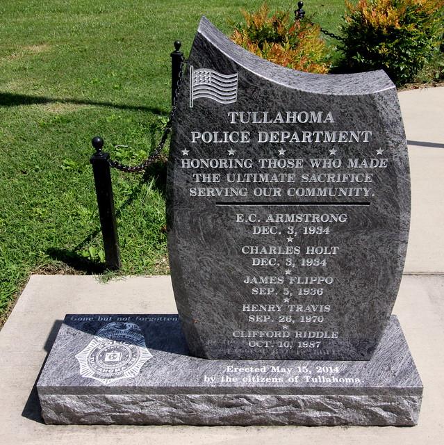 Tullahoma Police Memorial