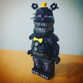 Minifig-a-Day #413: Nightmare (FNAF 4) Happy Halloween!