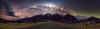 Stars over Sealy (robjdickinson) Tags: stars milky way astro pano panoramic night dark road astrophotography milkyway