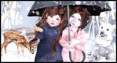 Whoa Snow!? (delisadventures) Tags: secondlifefashion secondlife second secondlifeblog seconlifefashion secondlifefashionblog fashion fashino fashions fashin fashionblog fas slfashionblog slfashion slfashions slfashionblogger slfashino slfashin babyfashion urbanfashion toddleedoofashion fasf toddleedoo navy peacoat snow umbrella glamrus tiny trinkets paper damsels nimble polar bear fawn dear deer rudolph cozy cold ah adorable fun cute
