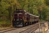 Laying Back at Lahaska (Dan A. Davis) Tags: newhopeivyland newhope newhopeandivylandrailroad nhi buckscounty buckingham nonesuchfarms lahaska pa pennsylvania railroad passengertrain train locomotive gp9u