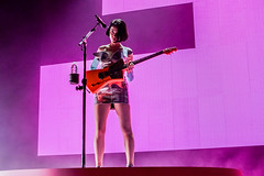 Annie Clark, St. Vincent (Joshua Mellin) Tags: annieclark stvincent masseduction fearthefuture fearthefuturetour 2017 concert live music annie clark album guitar ernieball ernieballguitar musician hangonme pills sugarboy losageless savior newyork younglover dancingwithaghost slowdisco smokingsection premiere ticket tour experience discography strangemercy marryme actor winter leverbeam pink cheetahprint cheetah stage lighting willoperron willoperronassociates artist creativedirector joshuamellin photographer photo photos pics pictures song lyrics guitarist silver blue tiffany pedestal stand orange dress fashion redbull redbullmusicacademy rbma rbmala lovethisgiant newyorkcitybacklot losangeles la california tiffanys rollingstone alien