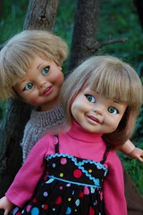 Giggles X two (tamsykens1) Tags: ideal giggles doll 1960s toy flirty eyes