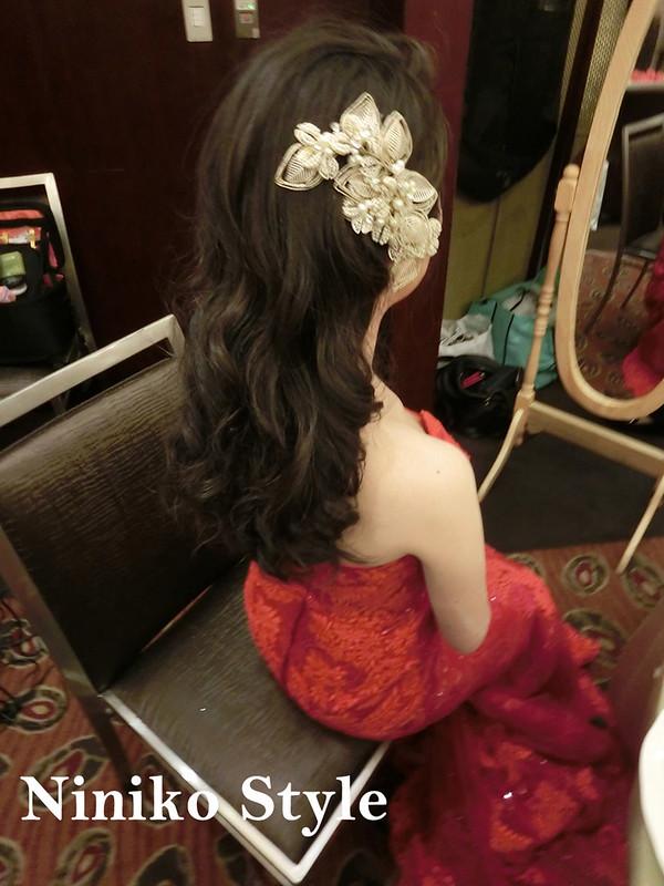 婚紗,髮型,2017,新娘,髮飾,婚宴,頭紗,BUFFET,六福皇宮絲路宴
